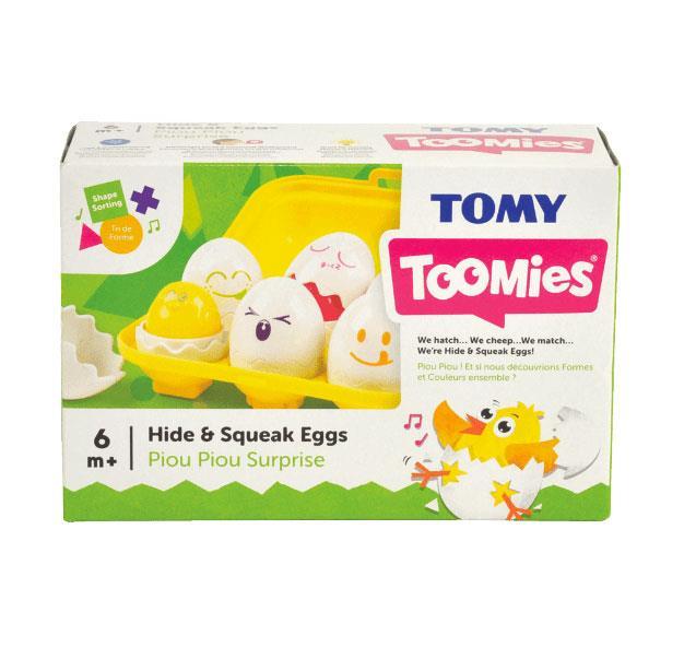 TOMY Sorter jajeczka z dźwiękami