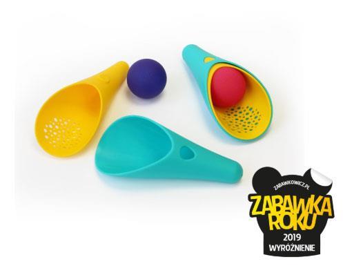 Quut: zestaw zabawek do piasku i wody Cuppi Blue - Noski Noski