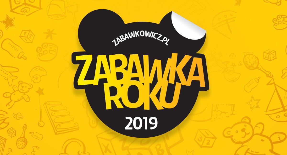 Zabawki nagrodzone w konkursie Zabawka Roku 2019