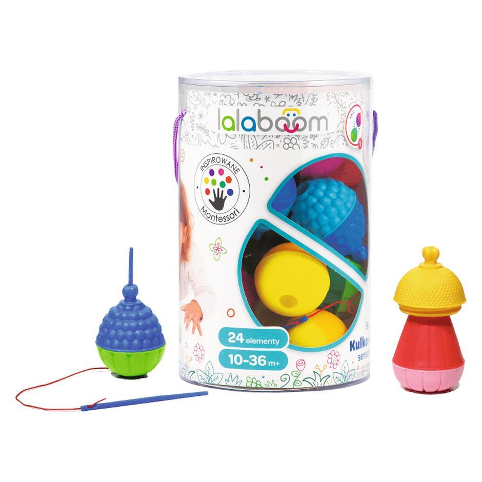 Kulko - klocki sensoryczne Lalaboom