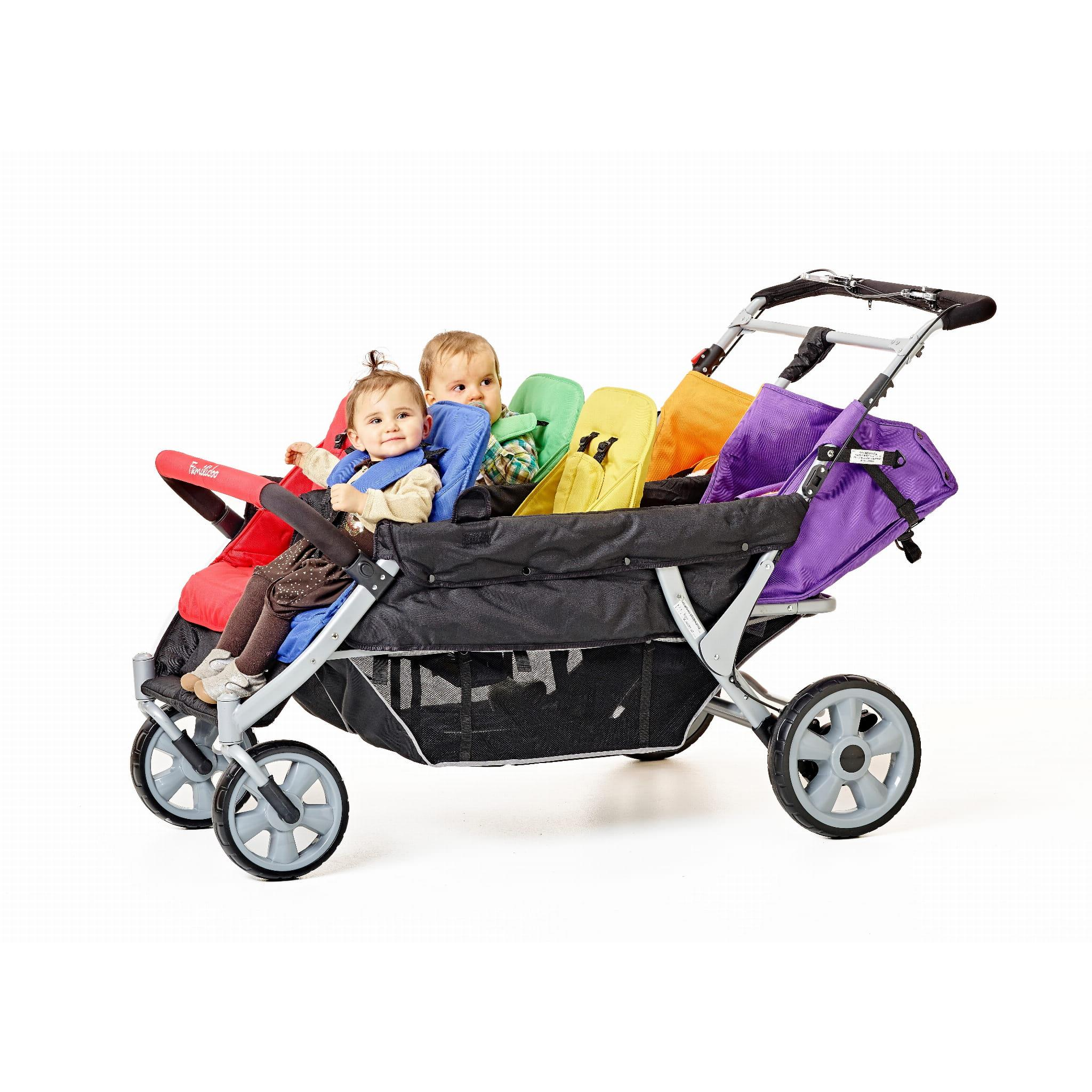 FAMILIDOO LIDOO BUS BB 6-Osobowy Wózek Spacerowy dla Żłobka