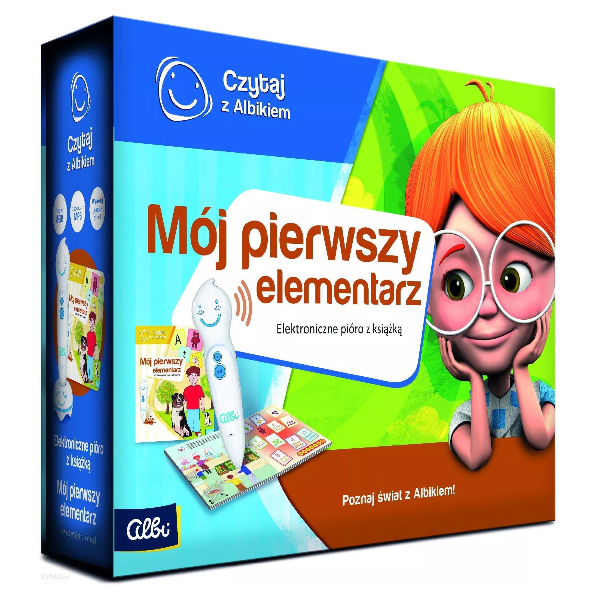 Seria edukacyjna Czytaj z Albikiem