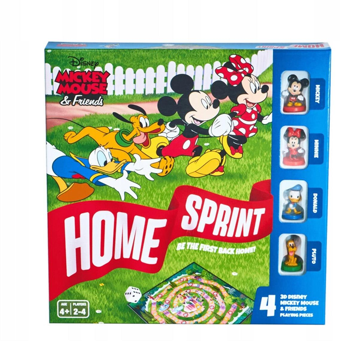 Mickey Friends Home Sprint