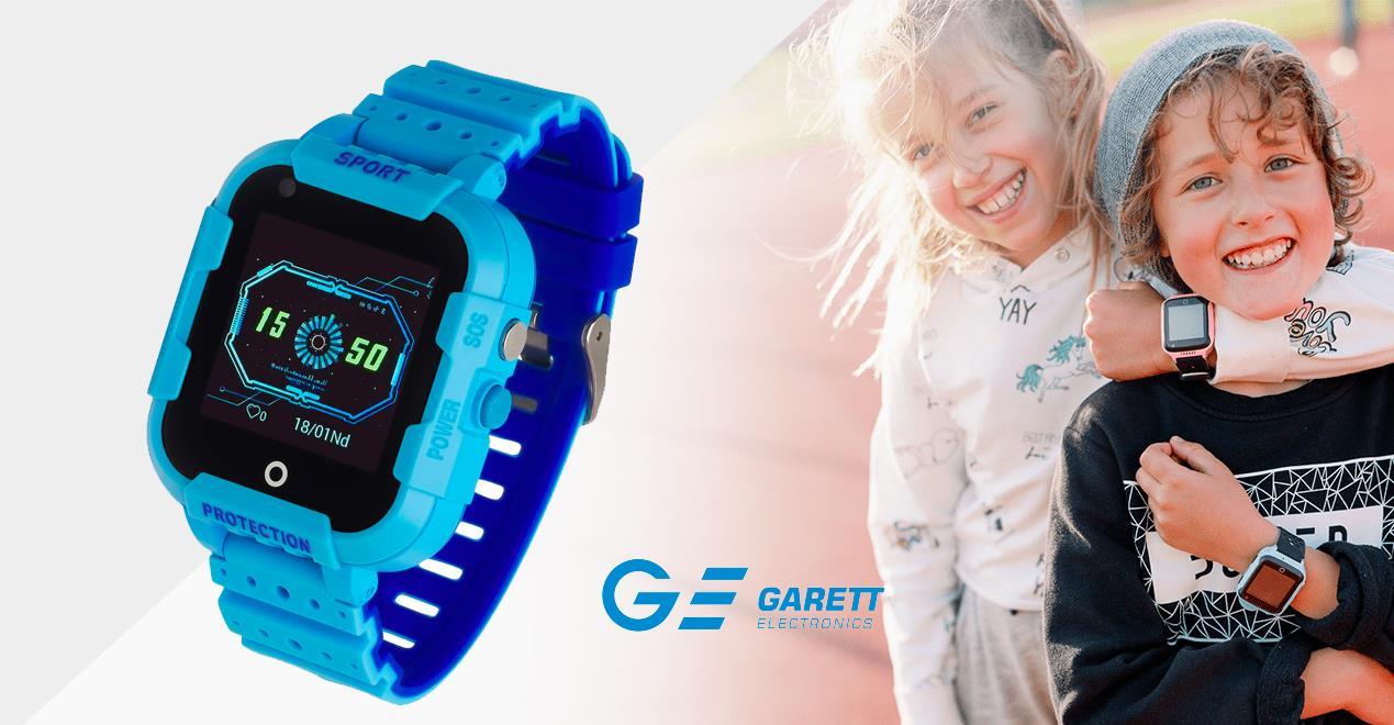 Garett Kids 4G – wielofunkcyjny smartwatch dla dziecka