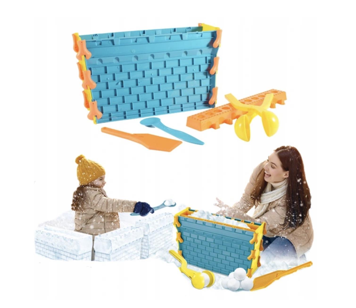 Foremki do budowy zamków do śniegu igloo Snow Toys