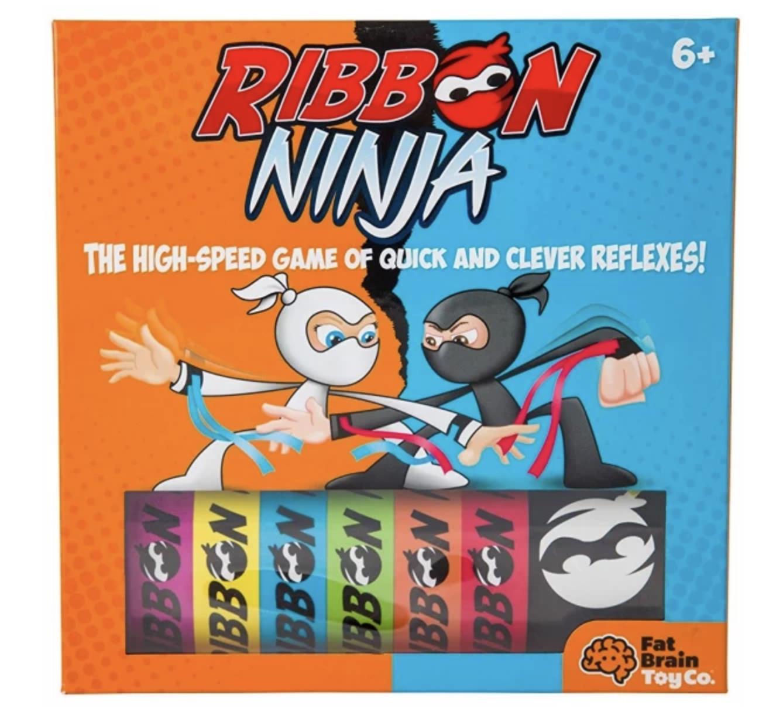 Gra Fat Brain Toys - Ninja Tasiemki