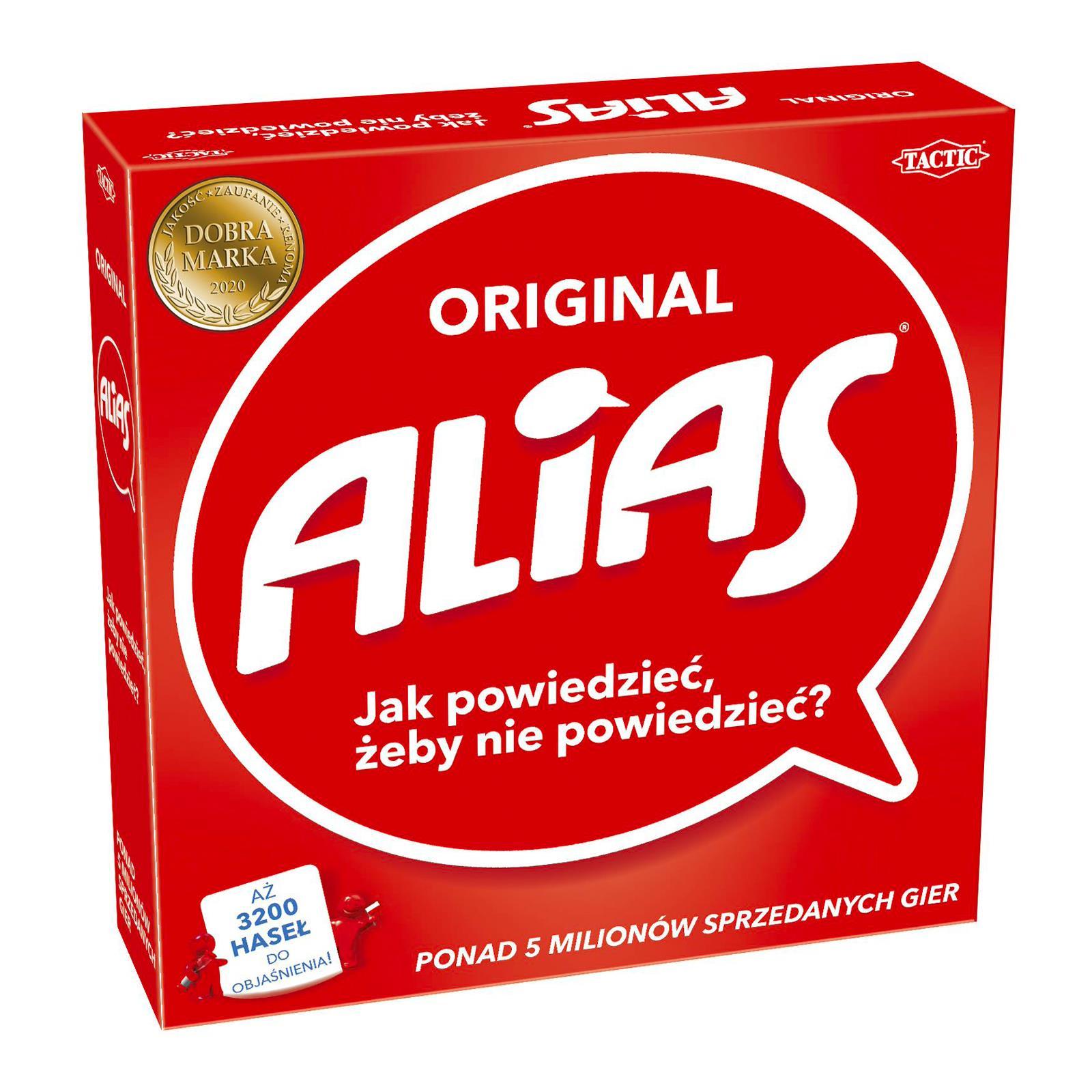 Seria gier planszowych Alias 5 gier