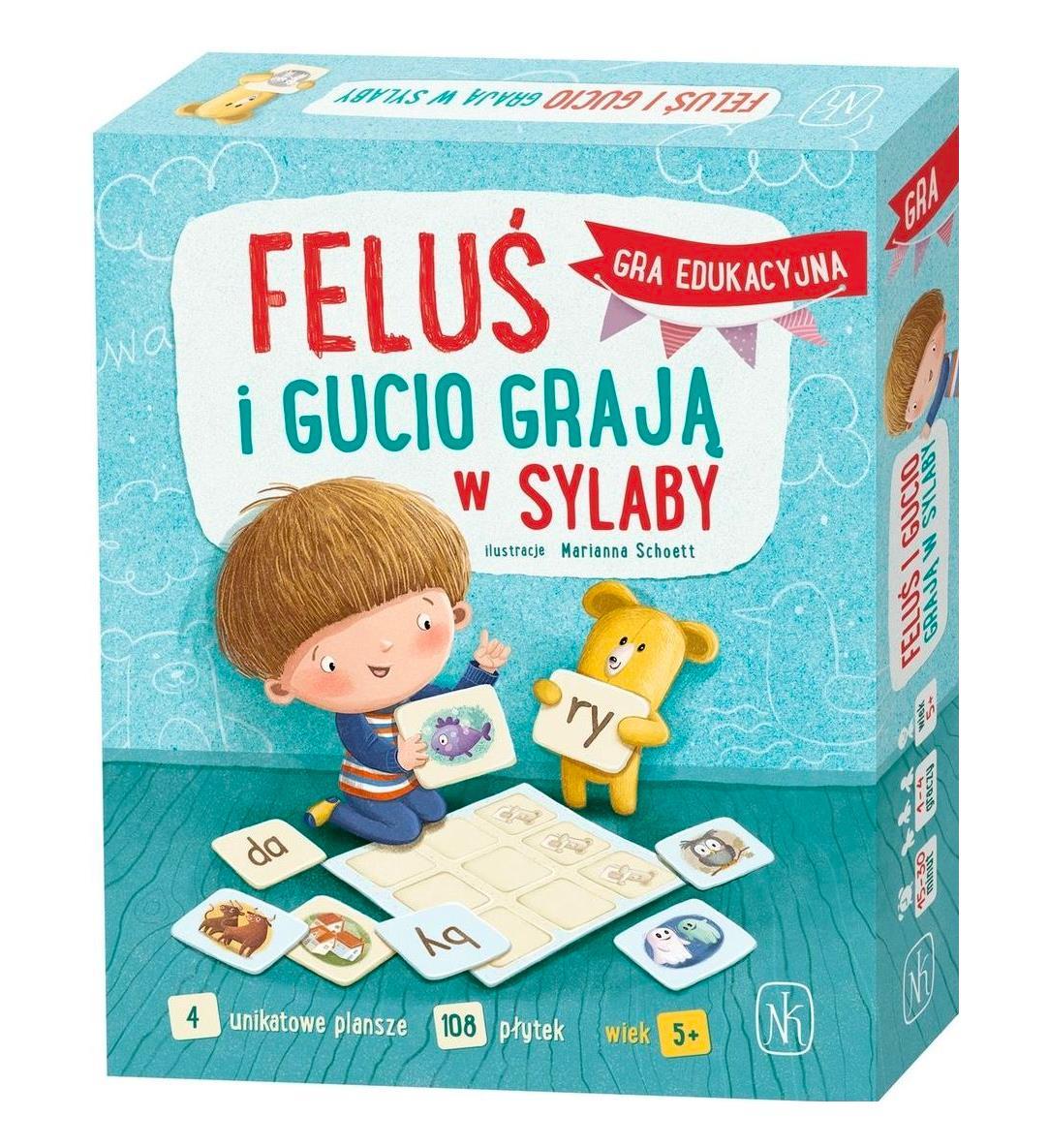 Gra Feluś i Gucio grają w sylaby