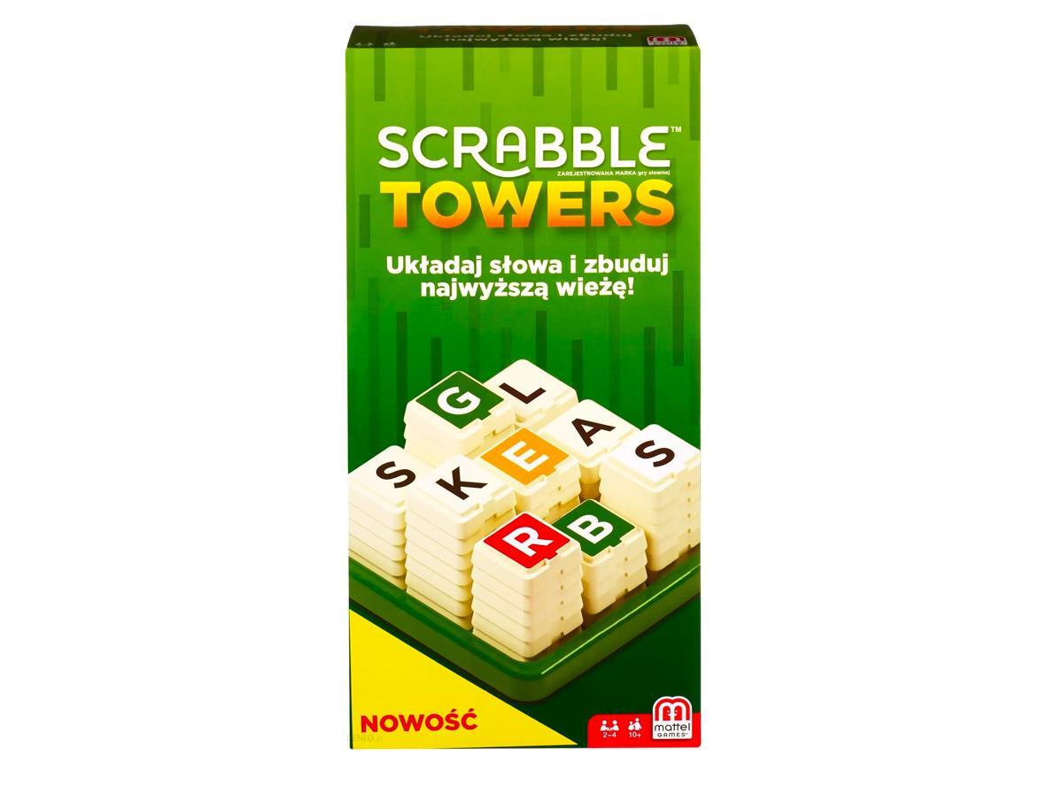 Gra planszowa Mattel Scrabble Towers