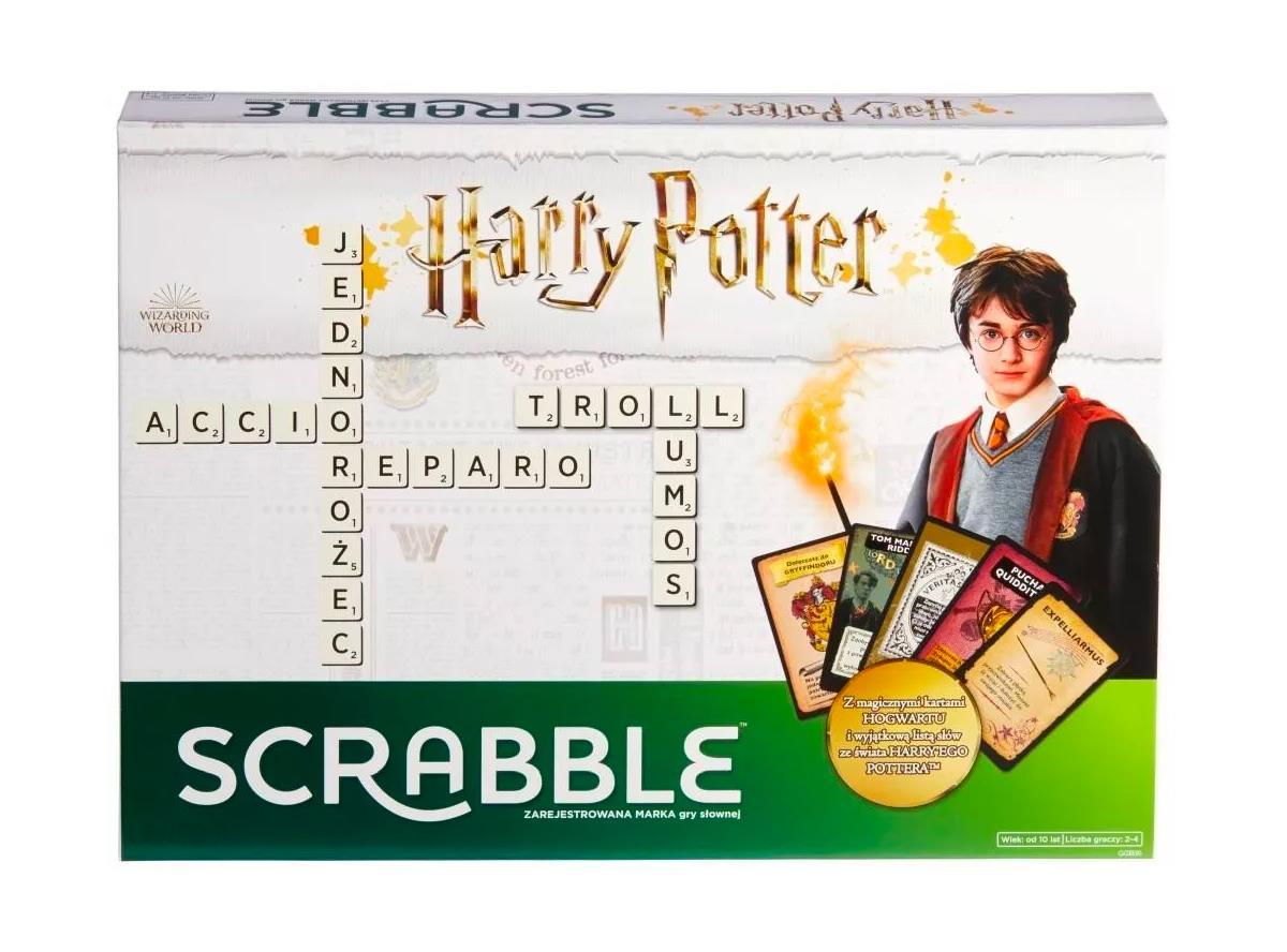 Gra planszowa Mattel Scrabble Harry Potter