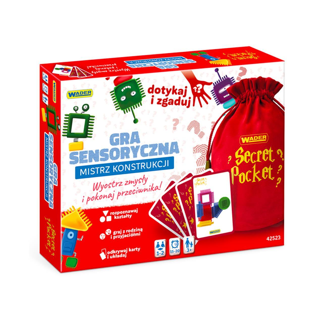 Play&Fun Secret Pocket – Seria gier i zabaw dla całej rodziny
