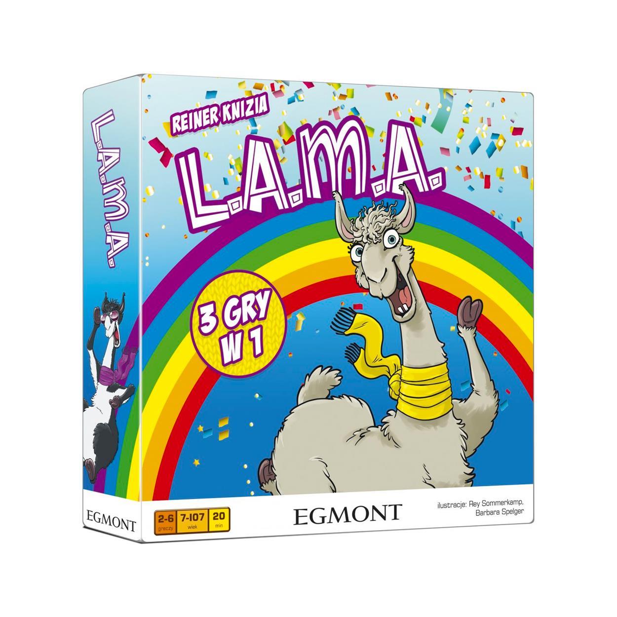 Lama - gra planszowa