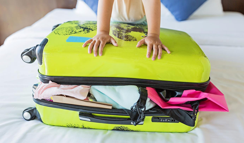 Jak spakować dziecko na wyjazd?