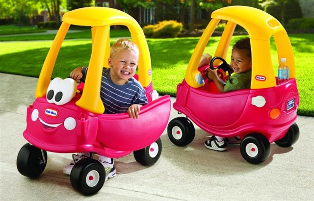 Samochody couzy coupe little tikes for Little tikes motorized vehicles