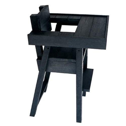 Black Beauty Supperman Chair with Tray