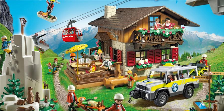 Świat gór od Playmobil