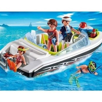Playmobil Speedboat