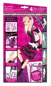 Szkicownik Pink&Black