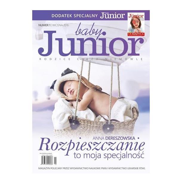 """""""Baby Junior"""" ze specjalnym dodatkiem """"Twój Junior"""" już w sprzedaży"""