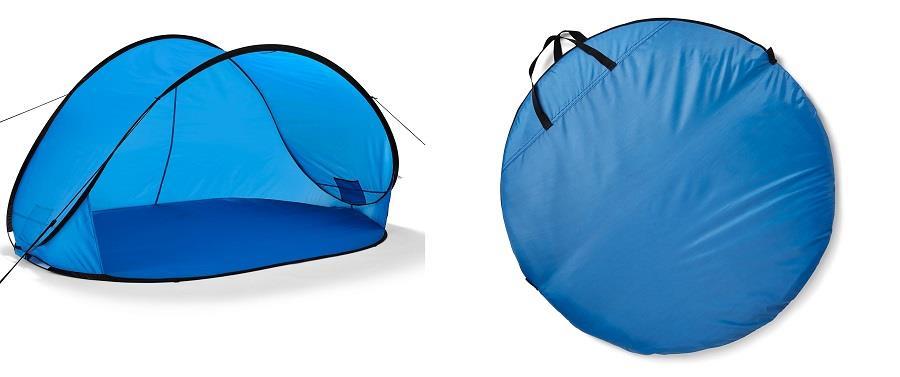 Samorozkładający się namiot