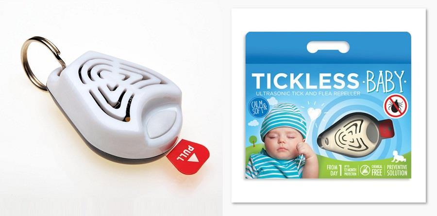TickLess Baby - skuteczna ochrona przed kleszczami