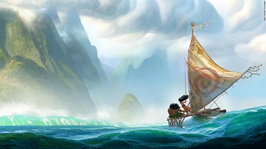 Nowa produkcja Disneya Moana - już na jesieni 2016
