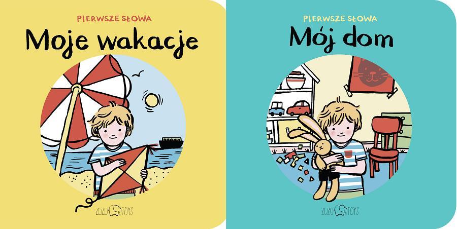 Seria kolorowych książeczek od ZUZU TOYS