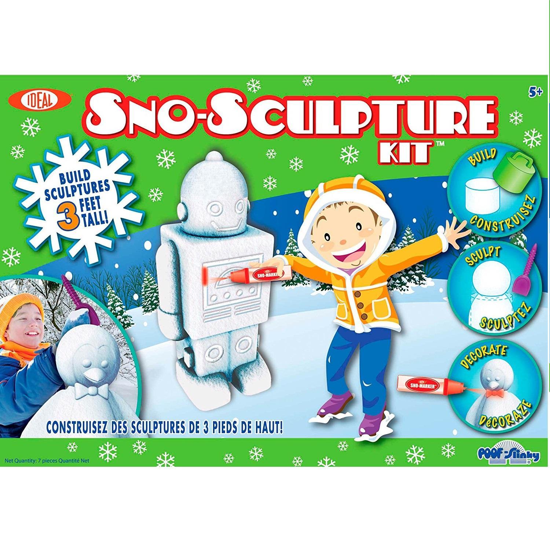 Formy do zrobienia śnieżnych figurek Sno-Sculpture Kit