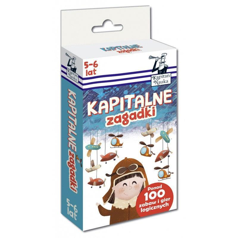 Kapitan Nauka seria Kapitalne zagadki i łamigłówki
