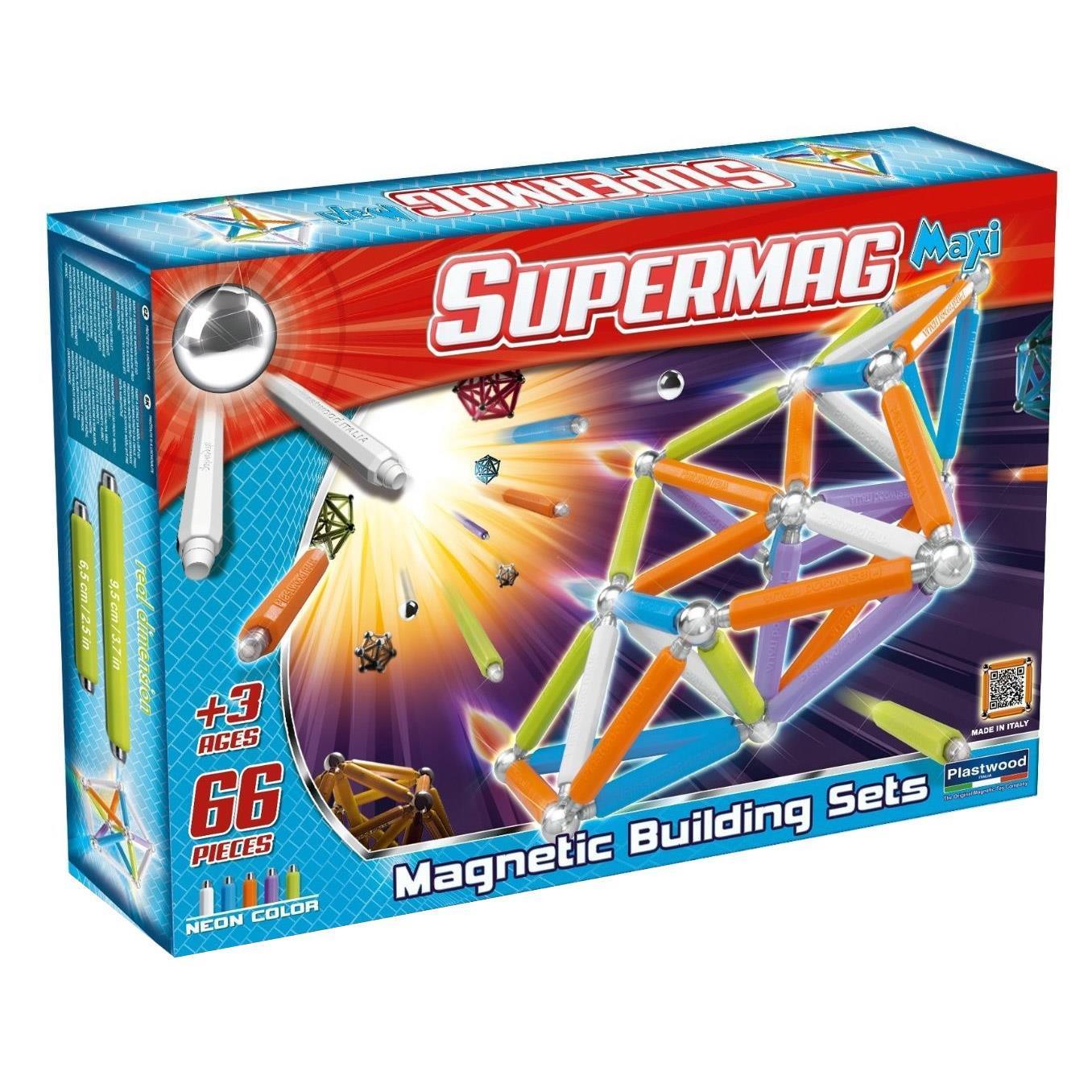 Klocki magnetyczne SUPERMAG od Libra