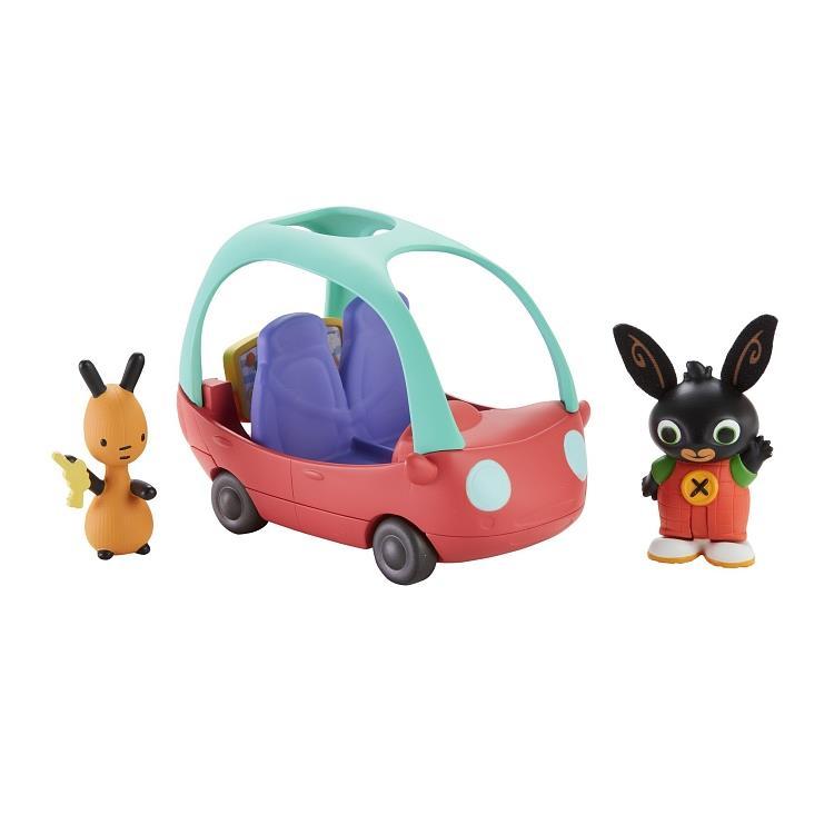 Flop's Car, zestaw z figurkami Bing Fisher Price