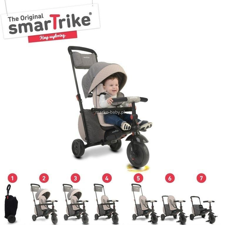 Smart Trike Składany rowerek Folding Trike™ 600 7w1