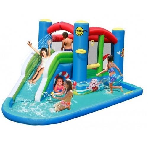 Zjeżdżalnia wodna z basenem od HappyHop