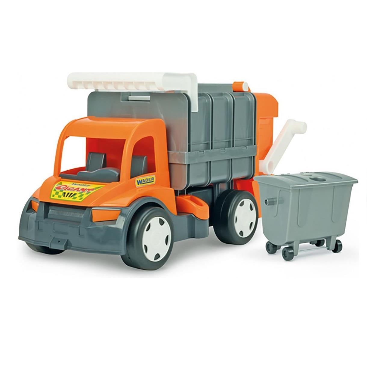 Seria Gigant Śmieciarka Orange/Blue, Farmer Wader