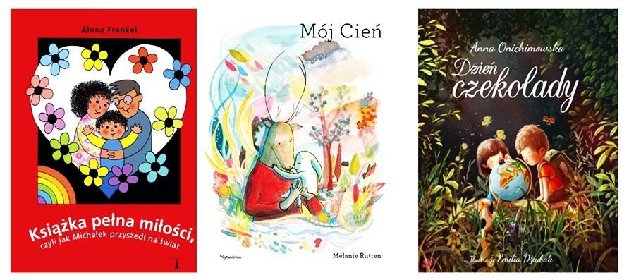 TOP książek dla dzieci o miłości