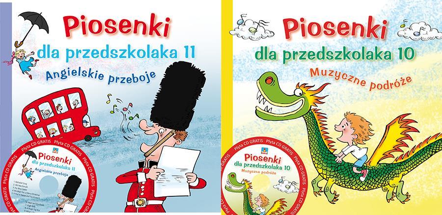 Piosenki dla przedszkolaka- Wydawnictwo Skrzat