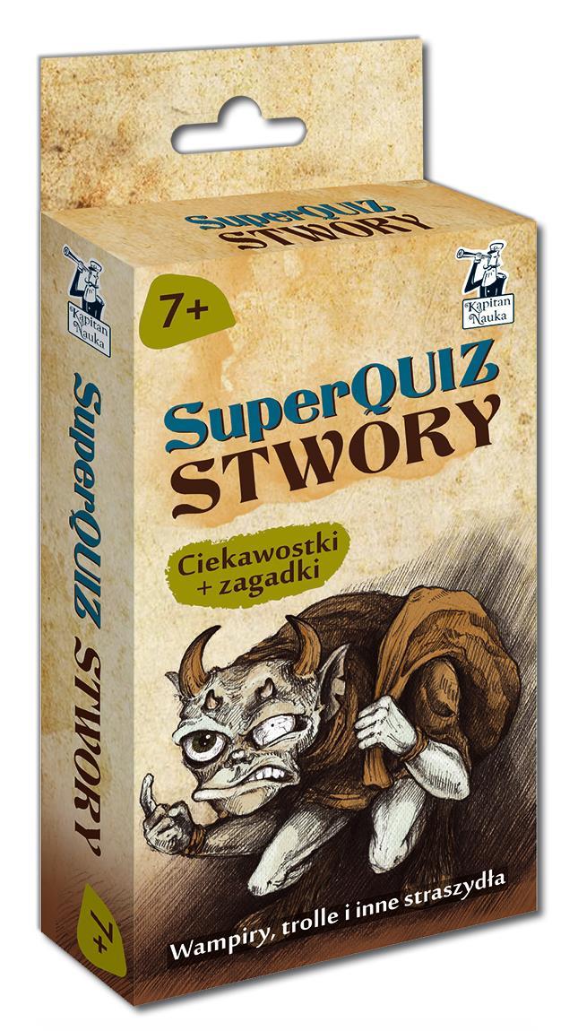 SuperQUIZ STWORY, Kapitan Nauka, Edgard
