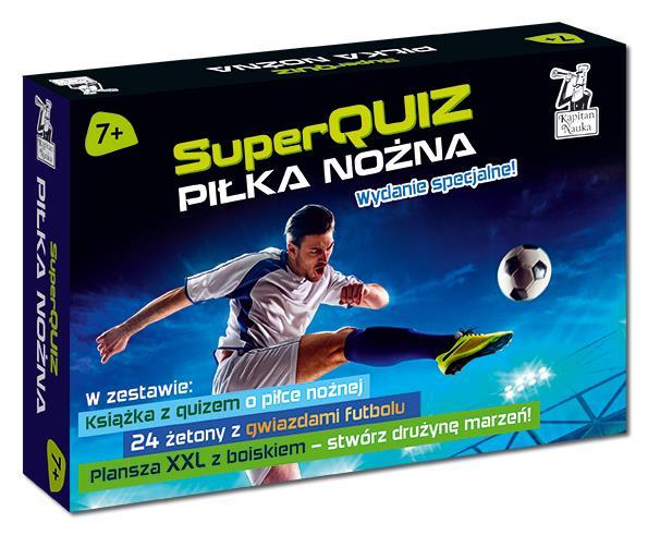 Pakiet Superquiz Piłka Nożna, Kapitan Nauka, Edgard