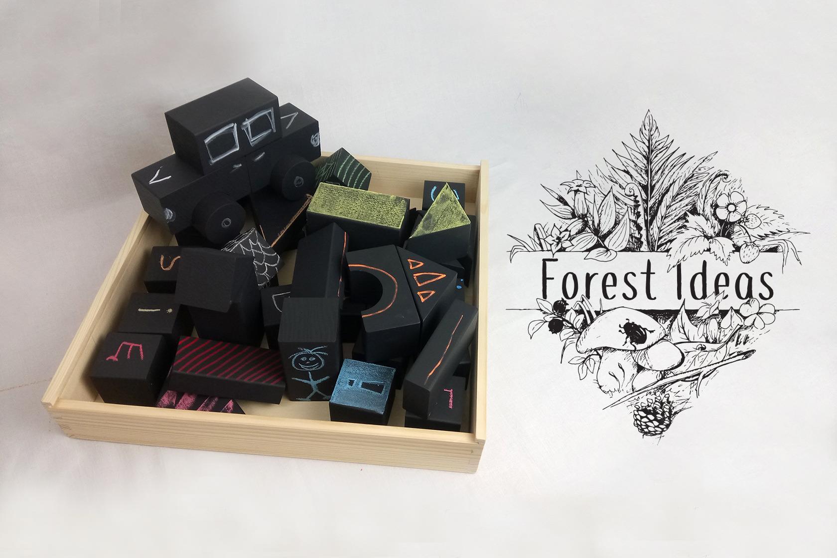 Klocki Forest Ideas