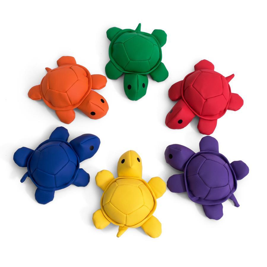 Woreczki gimnastyczne- zółwie