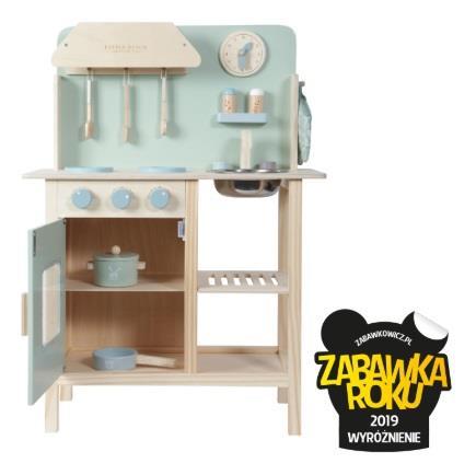 Little Dutch seria drewnianych kuchennych zabawek dla dzieci