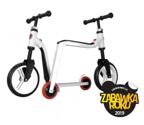 Hulajnoga i rowerek biegowy w jednym