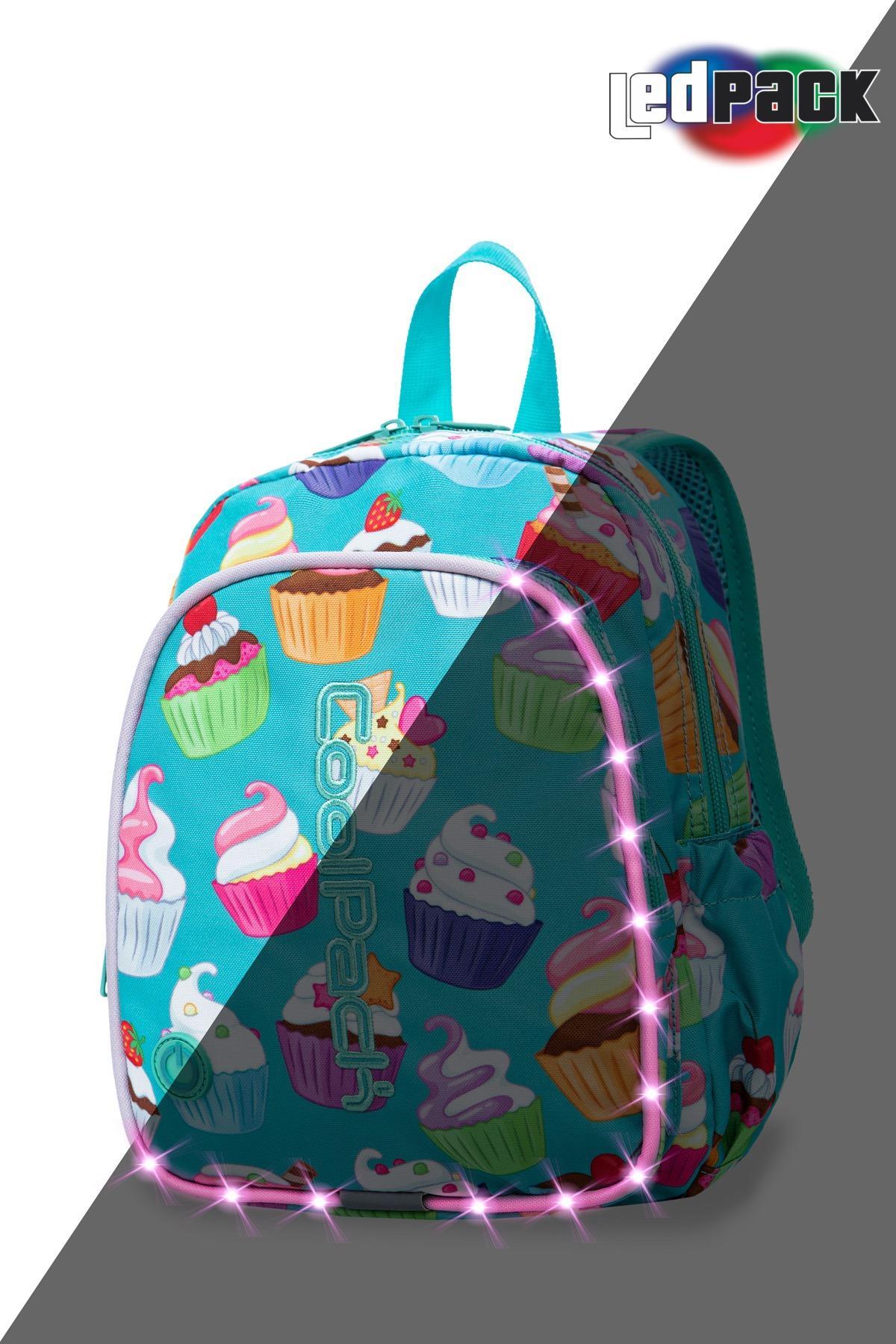 Świecący plecak przedszkolaka Bobby LED