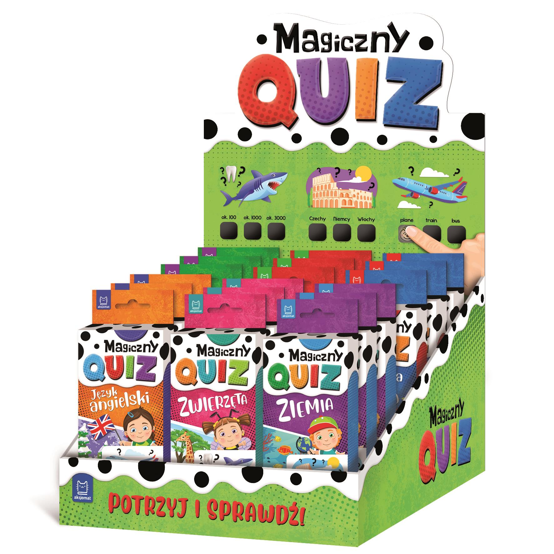 Seria Quizy Magiczne 7+