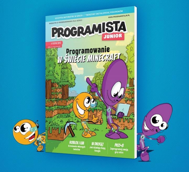 Programista Junior – dwumiesięcznik o programowaniu dla dzieci